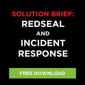 Solution Brief: RedSeal and Incident Response
