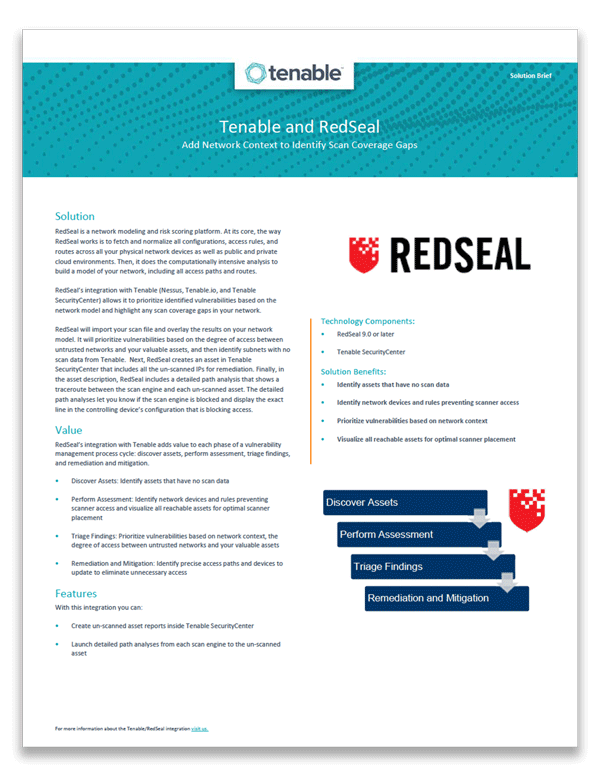 RedSeal at Tenable GovEdge 2018 - RedSeal